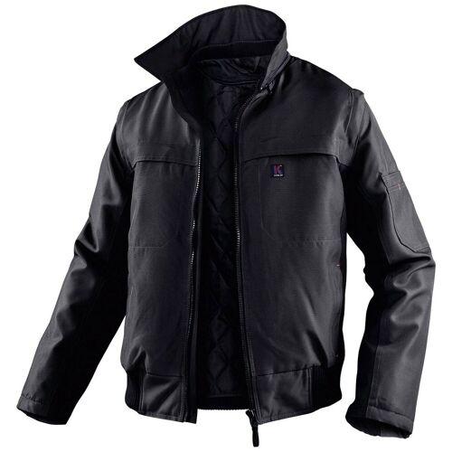 Kübler Arbeitsjacke »Pilotenjacke« mit 5 Taschen, schwarz