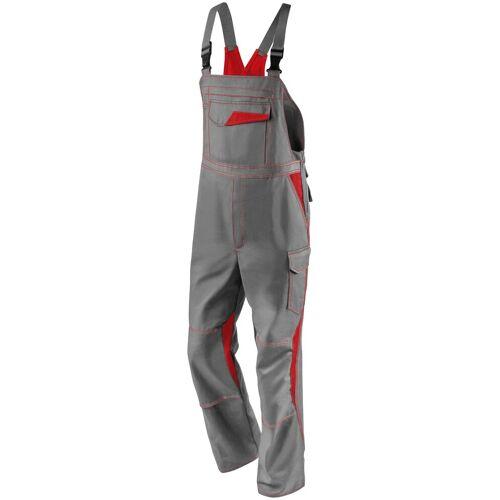 Kübler KÜBLER Latzhose »Image Dress New Design«, grau/rot