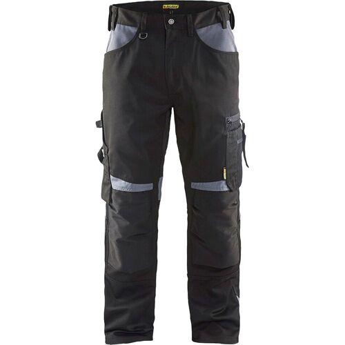 BMD Arbeitshose »Bundhose «, mit dehnbarem Bund, schwarz/grau