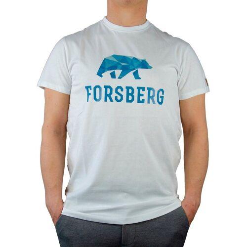 Forsberg T-Shirt, weiß/blau