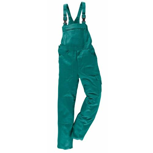 Kübler KÜBLER Latzhose »Quality Dress«, Anthrazit, grün