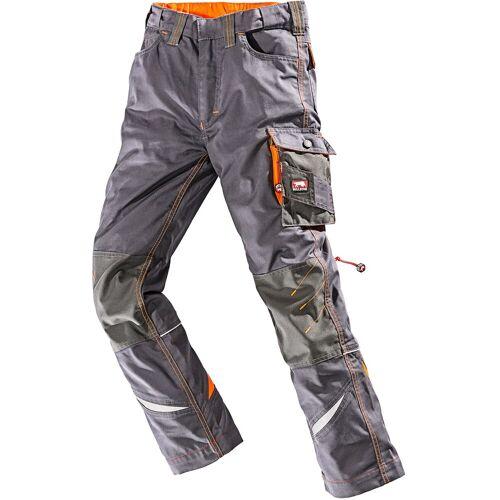BULLSTAR Arbeitshose »Kinderhose Ultra«, grau-orange, grau/orange