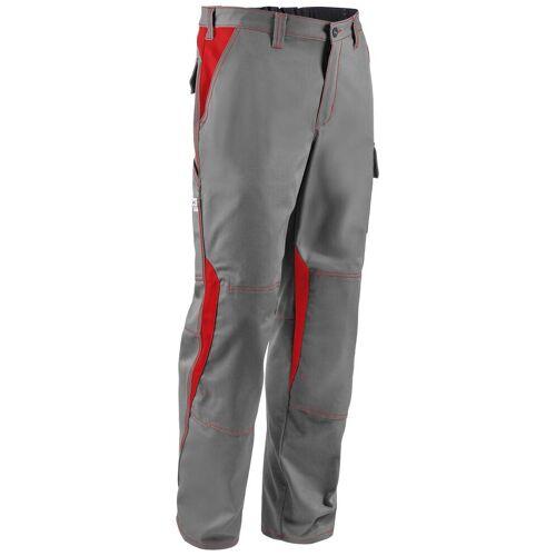 Kübler KÜBLER Arbeitshose »Image Dress New Design Hose«, grau/rot