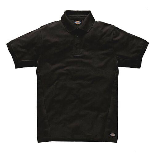Dickies Poloshirt 100 % Baumwolle, schwarz