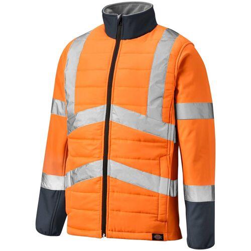 Dickies Arbeitsjacke »LOUDON« Reflexstreifen, orange