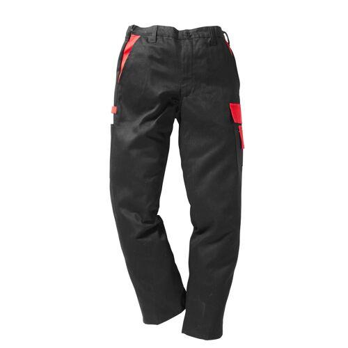 Arbeitshose »Basic Pro«, rot-schwarz
