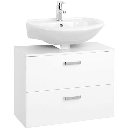 HELD MÖBEL Waschbeckenunterschrank, Breite 70 cm, weiß