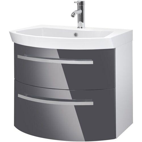 Oristo Waschtisch »Flow«, Breite 65 cm, grau