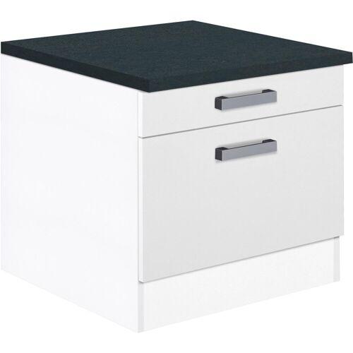 OPTIFIT Unterschrank »Elm« für Waschmaschine oder Trockner, Breite 60 cm, weiß/weiß