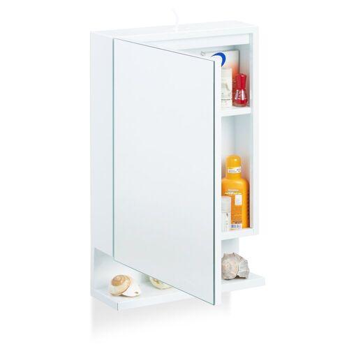 relaxdays Badezimmerspiegelschrank »Badspiegelschrank mit Steckdose«