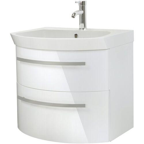 Oristo Waschtisch »Flow«, Breite 65 cm, weiß