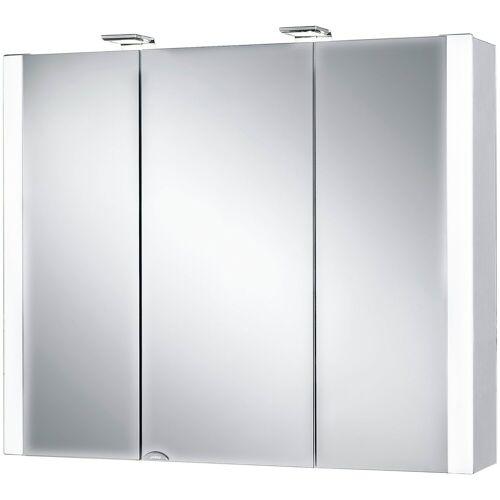 jokey Spiegelschrank »Jarvis« Breite 80 cm, mit LED-Beleuchtung, weiß