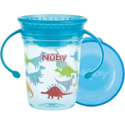 Nuby Becher, blau