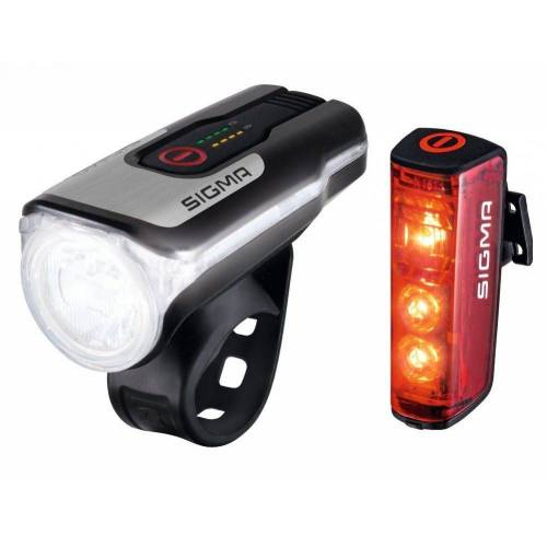 Sigma SPORT Fahrradbeleuchtung »Sigma Beleuchtungsset Aura 80 USB / Blaze«