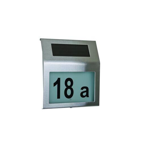 HTI-Living Solar-Hausnummer, silber