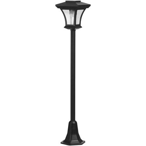 LED Außen-Stehlampe, LED Solar Laterne 120 cm