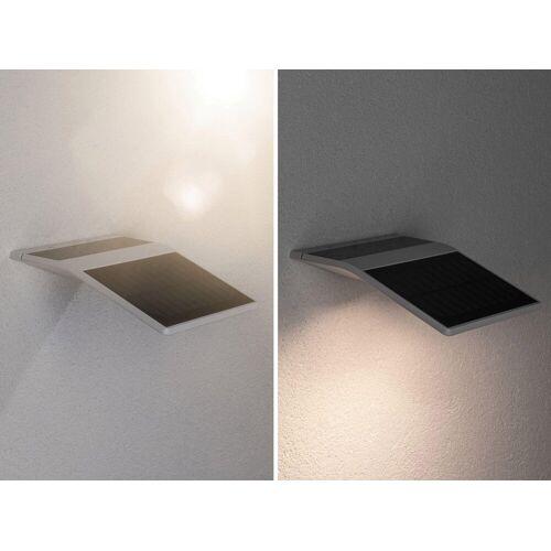 Paulmann LED Außen-Wandleuchte »Solar Yoko Weiß mit Bewegungsmelder 3000K«