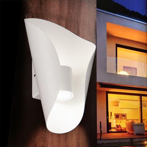 Licht-Trend LED Außen-Wandleuchte »Faglia LED Aussen- Up&Down in Weiß«