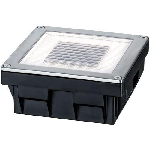 Paulmann LED Einbauleuchte »Cube«, Bodeneinbauleuchten-Set, Solar, Edelstahl