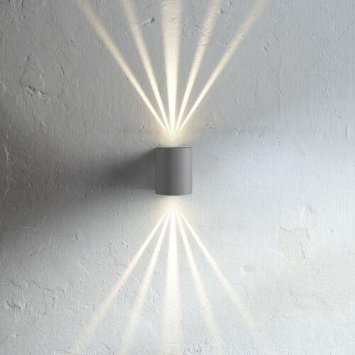 Licht-Trend Wandleuchte »Baleno grau mit Lichtfiltern«