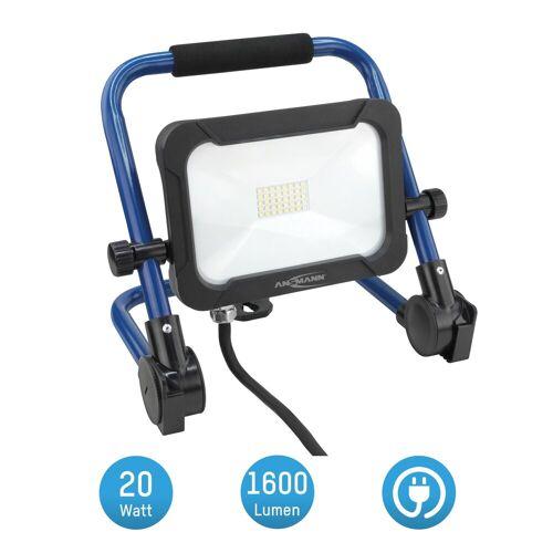 Ansmann LED Baustrahler »Baustrahler LED 20W – Baustellen Lampe, Bau Leuchte, IP54 wetterfest«