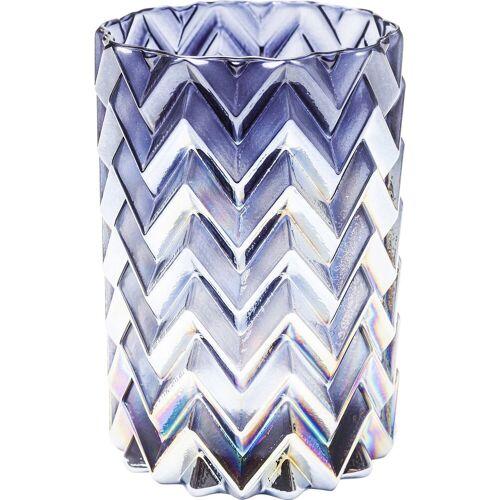 KARE Kerzenständer »Windlicht Iris Zick Zack 13cm«