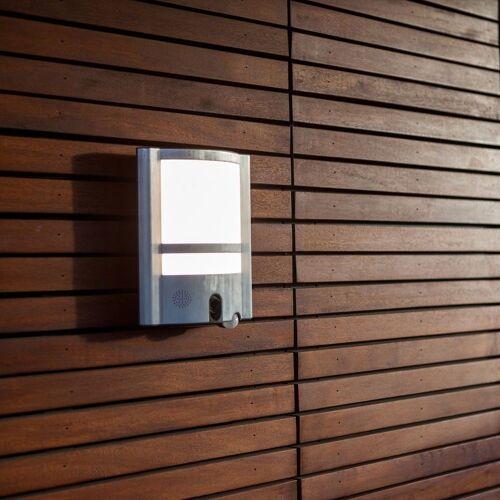 LUTEC LED Außen-Wandleuchte »Vesta LED-mit Kamera / 1350lm / Anthrazit«