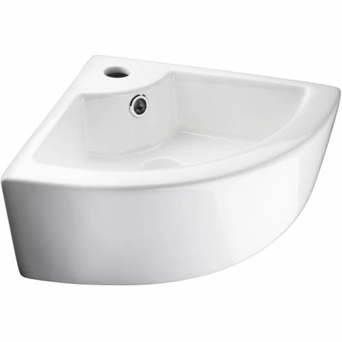 tectake Waschbecken »Waschbecken aus Keramik, eckig«