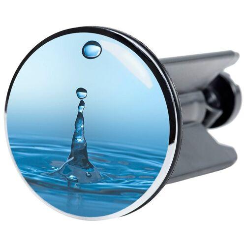 Sanilo Stöpsel »Tropfen«, für Waschbecken, Ø 4 cm, aquablau