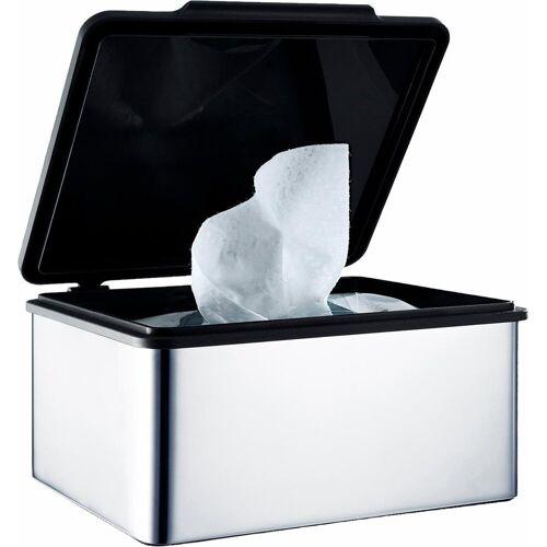 BLOMUS Papiertuchbox »MENOTO«, für Feuchttücher, silberfarben-poliert