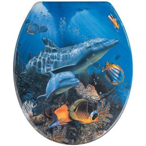 WENKO WC-Sitz »Sea Life«, Sitzerhöhung