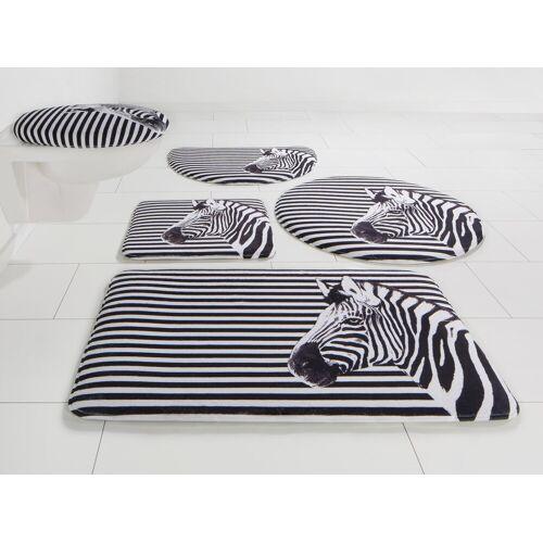 Bruno Banani Badematte »Zebra« , Höhe 14 mm, Memory Schaum
