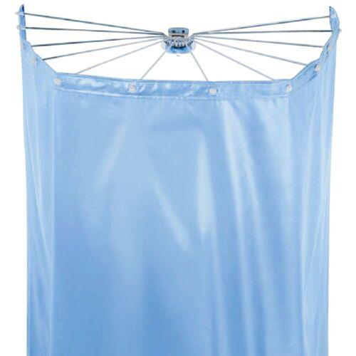 spirella Duschschirm »Ombrella« Breite 170 cm (Set), mit 12 Ösen, white, 200x170 cm; Duschspinne und Vorhang