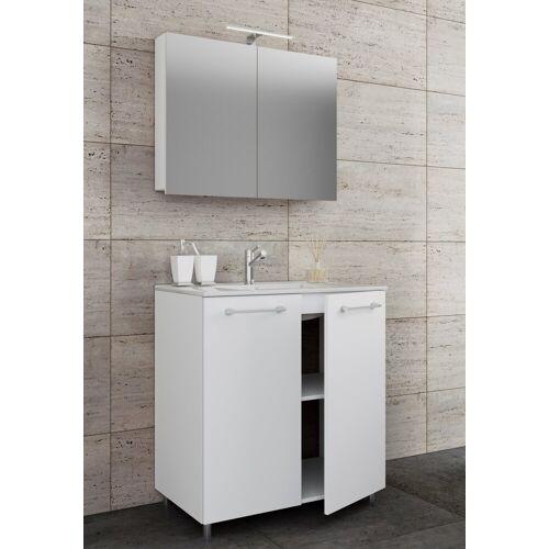 VCM Waschtisch, Breite 60 cm: Weiß