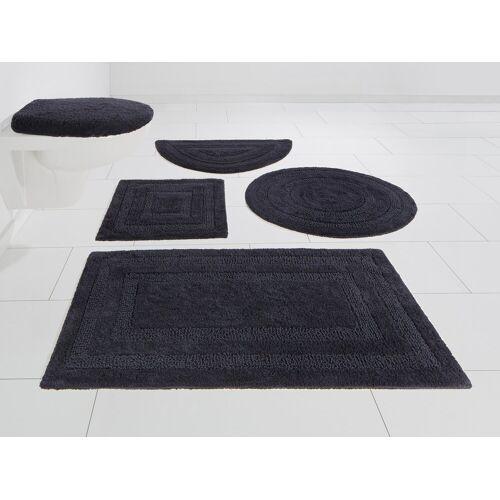 my home Badematte »Kari« , Höhe 10 mm, Beidseitig verwendbar, grau