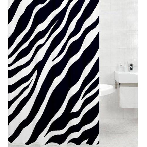 Sanilo Duschvorhang »Zebra« Breite 180 cm, Höhe 200 cm