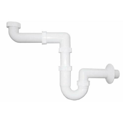HAK Siphon »Waschtisch-Siphon, platzsparend«