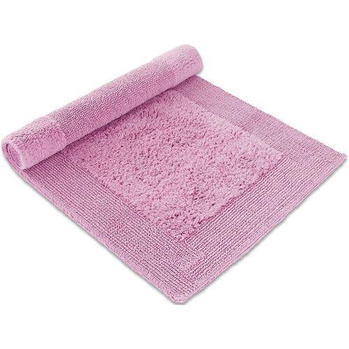 Möve Badematte »Loft« , Höhe 22 mm, beidseitig verwendbar, rosé