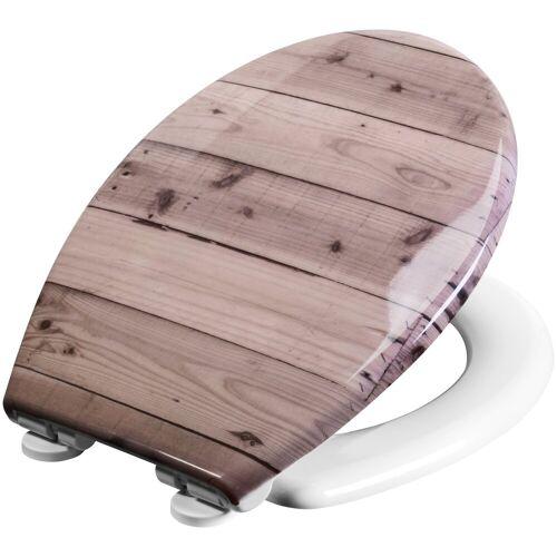 CORNAT WC-Sitz »HOLZBOHLEN«