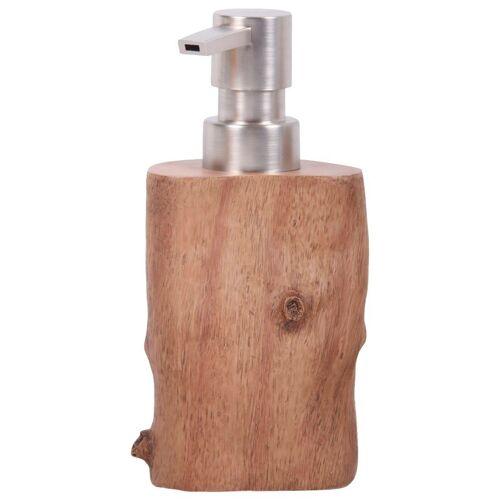 Sanilo Seifenspender »Old Tree«, mit stabiler und rostfreien Pumpe, braun / holzoptik