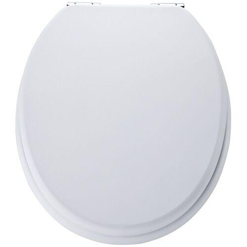 Schütte SCHÜTTE WC-Sitz »MDF WC- Sitz mit Holzkern«, weiß
