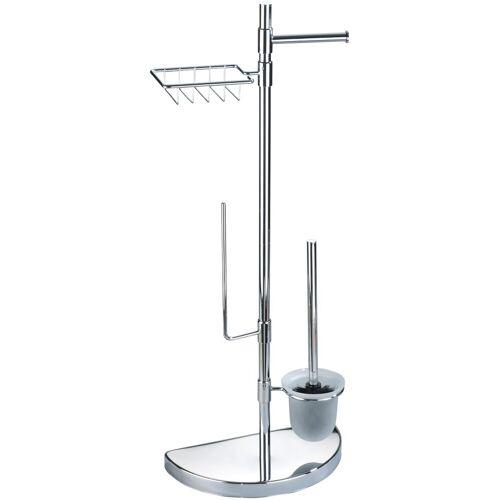 WENKO WC-Garnitur »Raumsparwunder«, , mit Ersatzrollen- und Feuchttücher-Halter