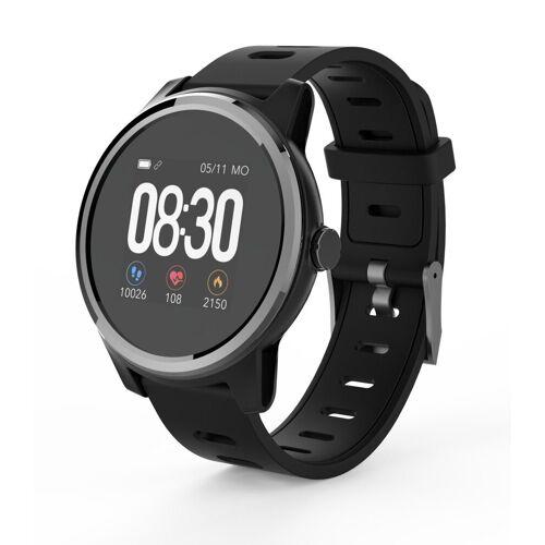 Swisstone Smartwatch »SW 660 ECG«, Schwarz