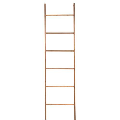 BUTLERS BIG BAMBOO »Deko-Leiter mit 6 Ebenen«, Natur