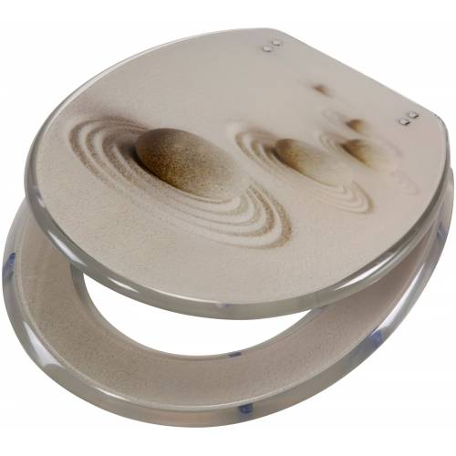 WC-Sitz »Sand«, aus Polyresin