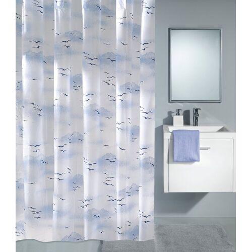 Kleine Wolke Duschvorhang »Sky«, 180 cm Breite, blau