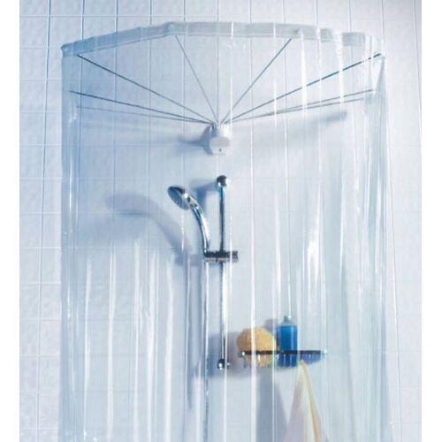 spirella Duschschirm »Ombrella«, inklusive Duschvorhang mit acht Ösen, Länge 170 cm