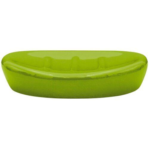 Seifenschale »Belly«, Breite: 11,30 cm, Keramik, grün