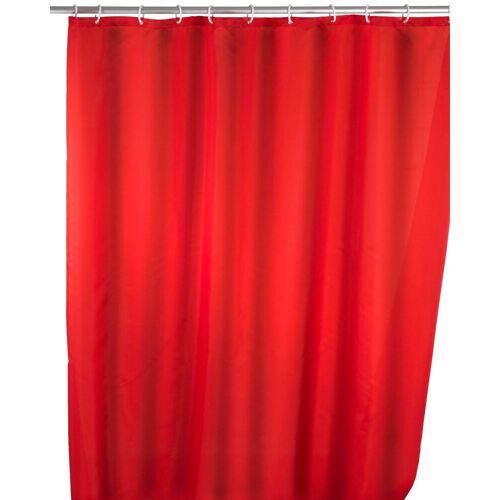 WENKO Duschvorhang »Uni Red« Breite 180 cm, Höhe 200 cm, waschbar