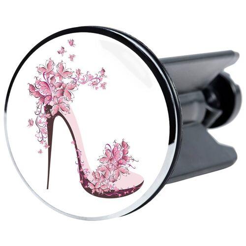 Sanilo Stöpsel »Stöpsel Schuh«, für Waschbecken, Ø 4 cm, rosa